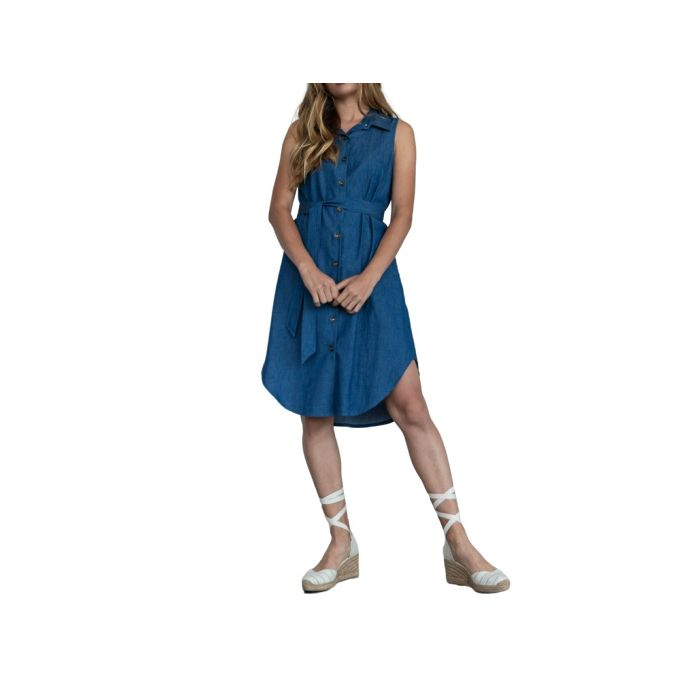 Helmi φόρεμα τζιν αμάνικο 46-05-105
