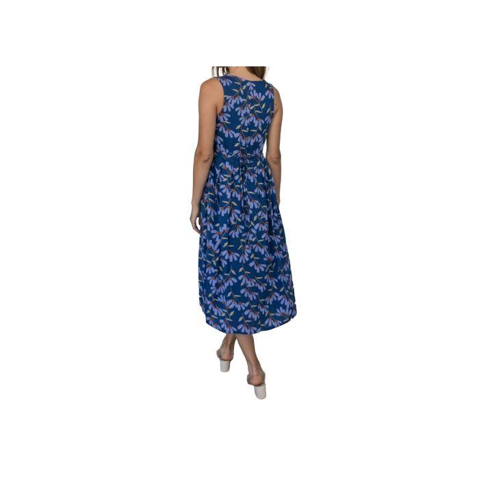 Helmi φόρεμα midi αμάνικο 46-05-111