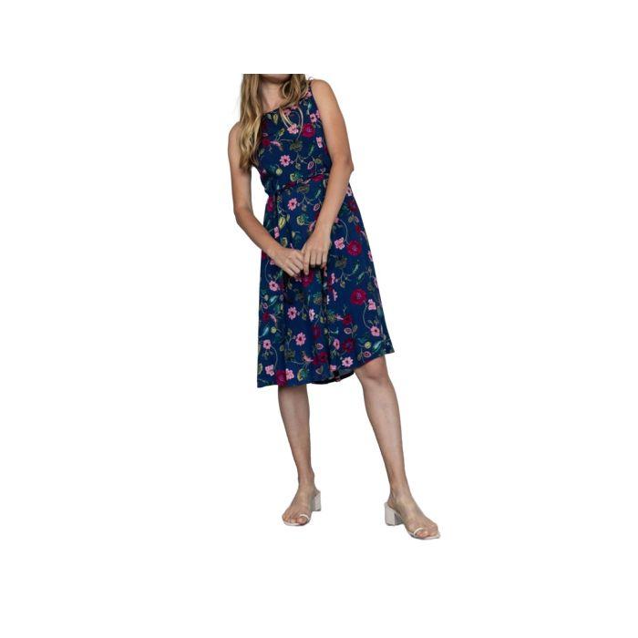 Helmi φόρεμα midi αμάνικο 46-05-119