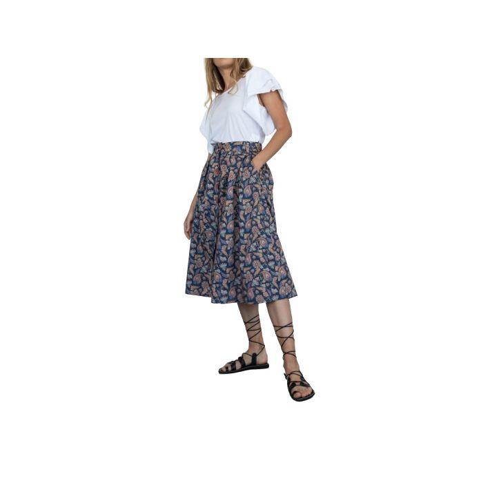 Helmi φούστα midi εμπριμέ 46-01-011