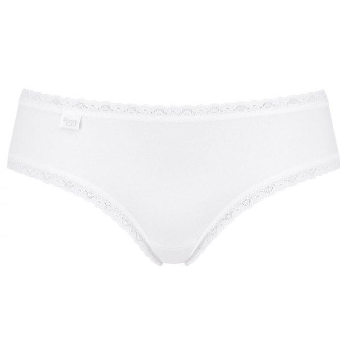 Sloggi 24/7 Cotton Lace Hipster σλιπ σετ 3τμχ 10167200