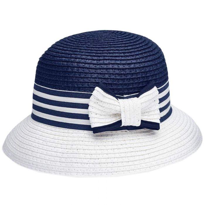 Mayoral καπέλο με ριγέ κορδέλα 20-10816