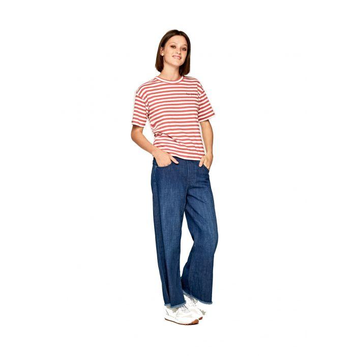 Pepe Jeans t-shirt με ρίγες PL504349