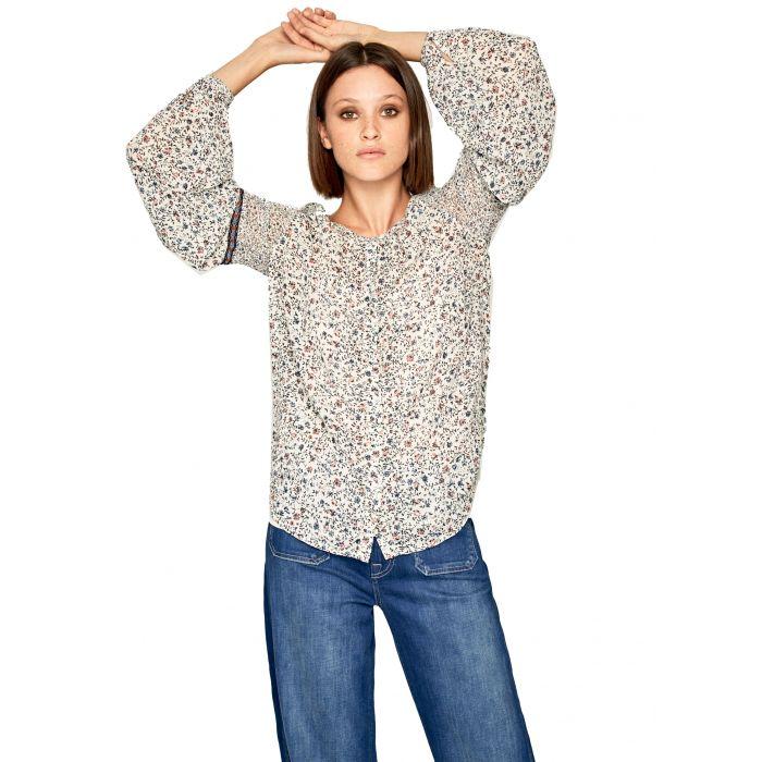 Pepe Jeans Sirene πουκάμισο μακρυμάνικο floral PL303588