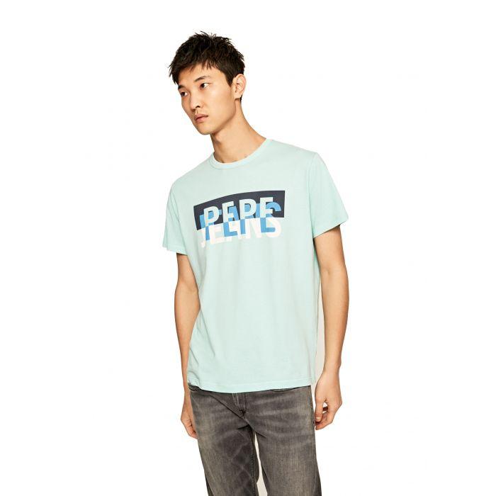 Pepe Jeans Micah t-shirt με logo PM507168