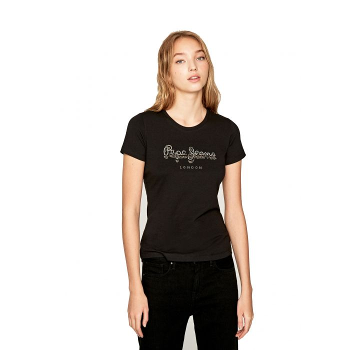 Pepe Jeans Beatrice t-shirt με logo PL504434