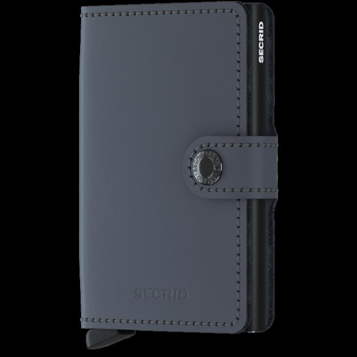 Secrid Miniwallet Matte MM-Grey-Black