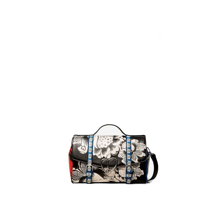 Desigual Blomming Winter Bronx τσάντα ώμου 19WAXP63