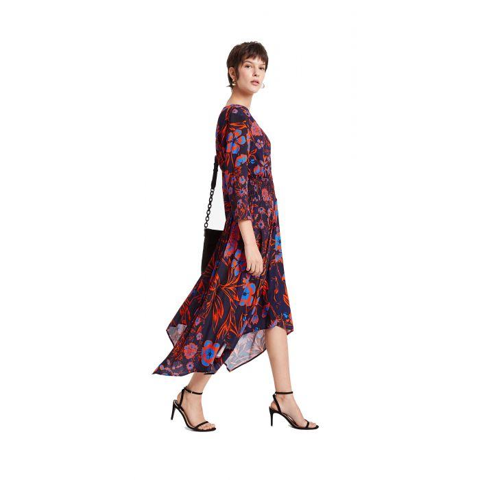 Desigual Vest Hudson φόρεμα midi 20SWVW29