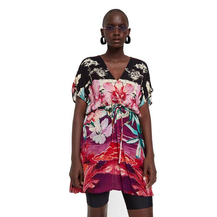Desigual Kalawao φόρεμα κιμονό 20SWVW82