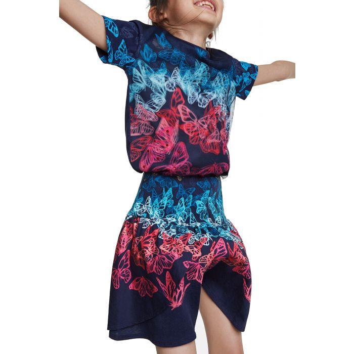 Desigual Honolulu φούστα με πεταλούδες 20SGFK07