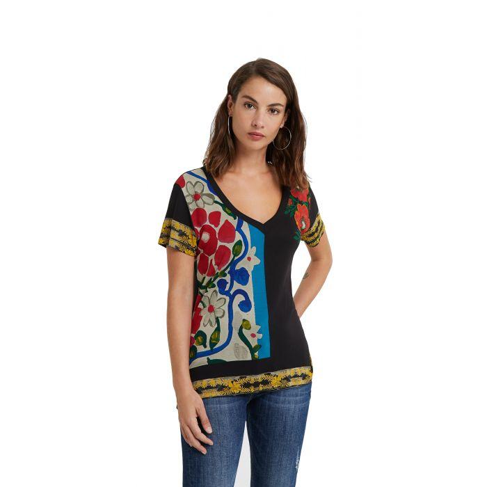 Desigual Montana μπλούζα floral 20WWTK96