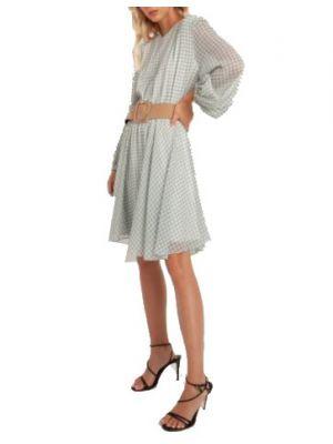 Toi & Moi φόρεμα μακρυμάνικο πτι καρό 50-4547-220
