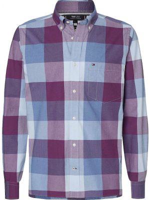 Tommy Hilfiger Flex Houndstooth Check πουκάμισο MW0MW13938
