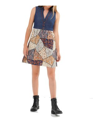 Attrattivo φόρεμα mini αμάνικο 91355752