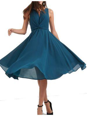 Attrattivo φόρεμα midi αμάνικο 91197839
