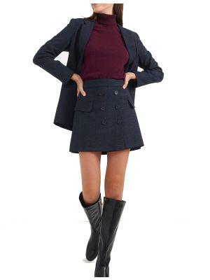 Attrattivo φούστα mini με κουμπιά 92055550