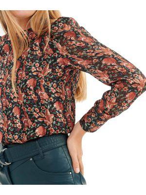 Attrattivo top μακρυμάνικο floral 9912184