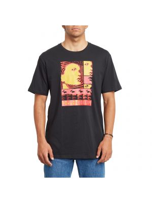 Volcom Embeded Face t-shirt με τύπωμα A5232058