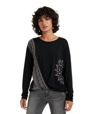 Desigual Marsella μπλούζα μακρυμάνικη 20WWTKAO
