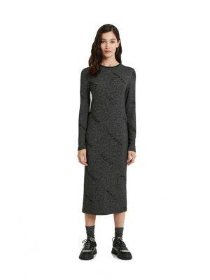 Desigual Angie φόρεμα midi πλεκτό 20WWVK95