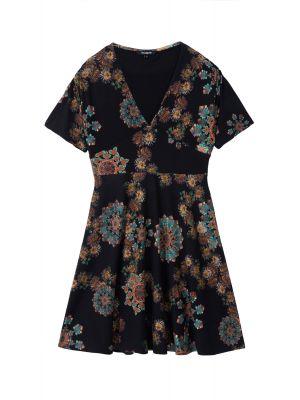 Desigual Gogo φόρεμα mini κοντομάνικο 20WWVK21