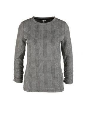 S'Oliver μπλούζα μακρυμάνικη καρό 2042076