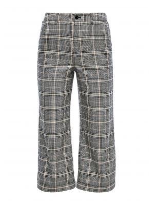 S'Oliver παντελόνι καρό 3/4 2041983.