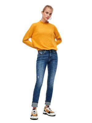 S'Oliver παντελόνι τζίν slim fit 2040327.
