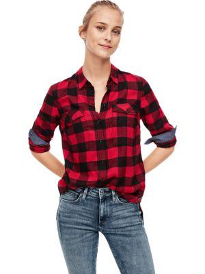 S'Oliver πουκάμισο καρό 2043663
