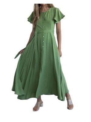 Helmi φόρεμα σεμιζιέ κοντομάνικο 46-05-090