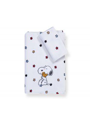 Nef-Nef Snoopy Rainbow πετσέτες σετ 2τμχ 025813