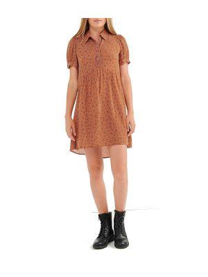Attrattivo φόρεμα mini κοντομάνικο 92255751