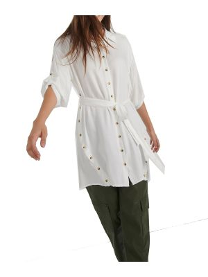 Attrattivo πουκάμισο μακρύ με κουμπιά 9912267