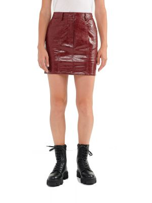 Attrattivo φούστα mini δερματίνη 9911854