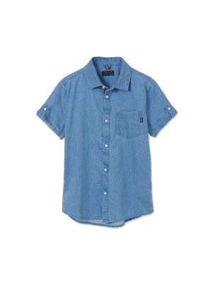 Mayoral πουκάμισο κοντομάνικο τζιν 21-06115