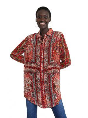 Desigual Luana πουκάμισο μακρυμάνικο εμπριμέ 20WWCW77