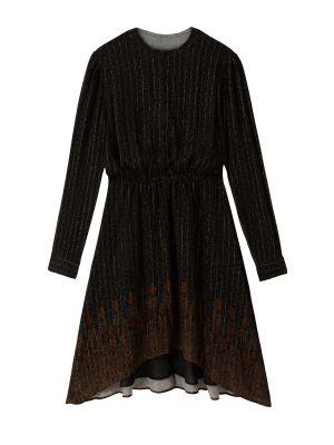 Desigual Delhi φόρεμα μακρυμάνικο ασύμμετρο 20WWVW50