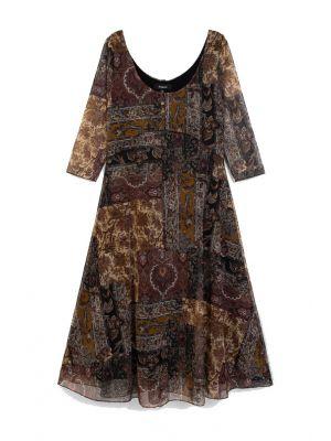 Desigual Vest Kerala φόρεμα midi 20WWVK67