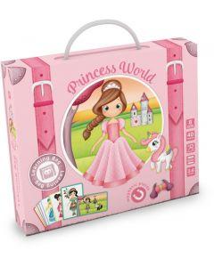 Eurekakids Βαλιτσάκι Μαγνητικό Παζλ - Ο Κόσμος Της Πριγκίπισσας 401940017005.