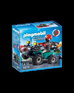 Playmobil Ληστής με γουρούνα και κλοπιμαία 1118-0717
