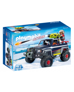 Playmobil Πειρατές του Πάγου με Όχημα 4χ4 9059