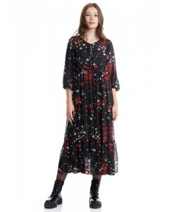 Funky Buddha maxi φόρεμα FBL002-124-13