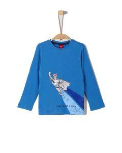 S' Oliver t-shirt μακρυμάνικο με τύπωμα 63.909.31.8976