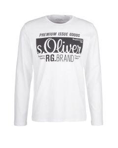 S' Oliver t-shirt μακρυμάνικο 13.910.31.5206