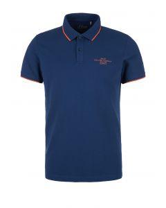 S'Oliver μπλούζα polo κοντομάνικη 2025485
