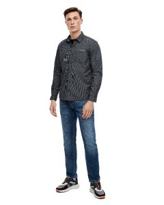 S'Oliver πουκάμισο μονόχρωμο 2040465.