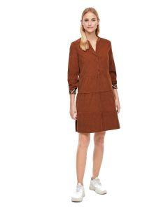 S'Oliver φόρεμα mini με μακρυά μανίκια 2042192.