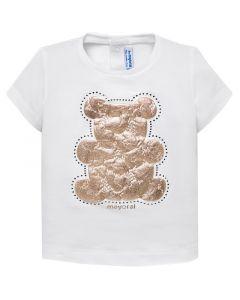 Mayoral μπλούζα bebe κοντομάνικη 29-00105-53