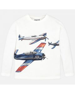 Mayoral μπλούζα μακρυμάνικη με τύπωμα 4023-42